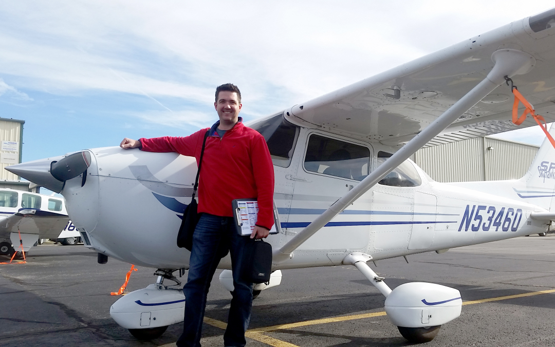 Chris Schoessel Achieves Private Pilot Certificate