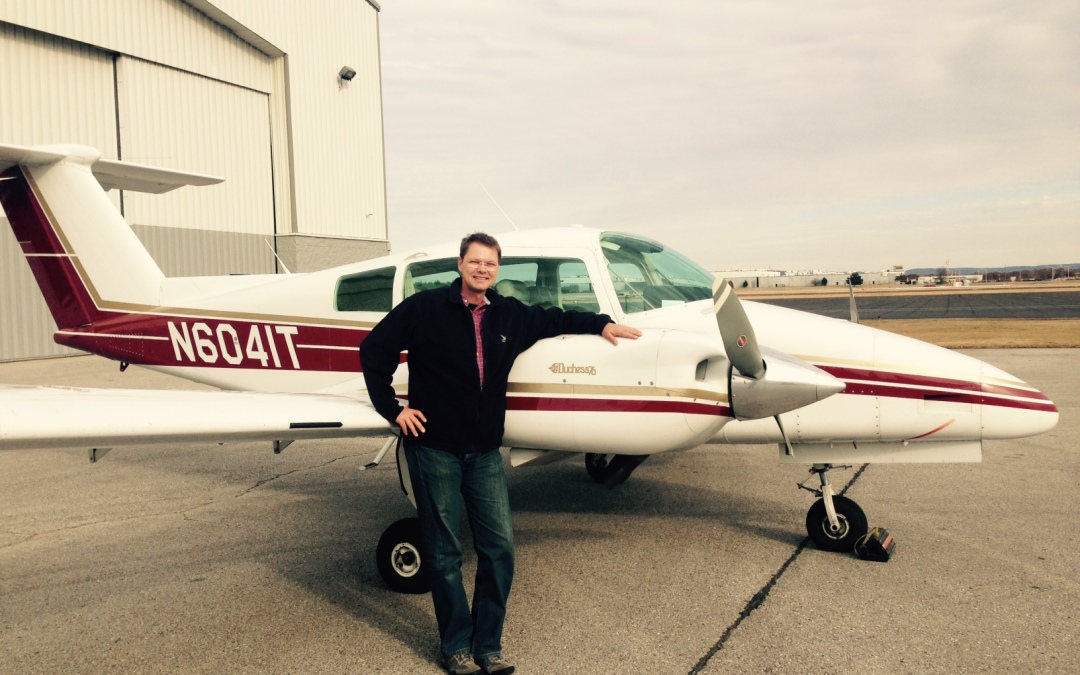 Andreas Bappert Passes Commercial Multi-Engine Checkride