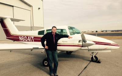 Andreas Bappert Passes Commercial Multi-Engine Checkride
