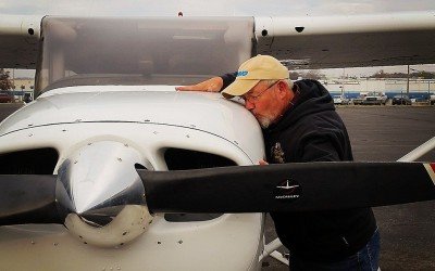 Jim Rich Earns His Private Pilot Certificate