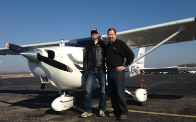 Ryan Snellen Takes His First Solo Flight!