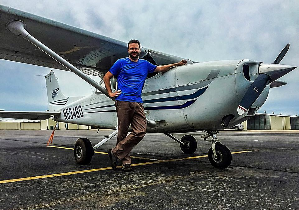 Stephen Fotopulos' First Solo!