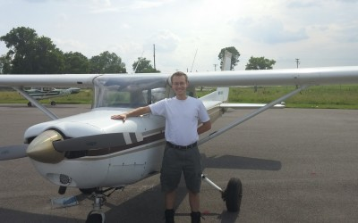 David Rohrer's First Solo!