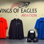 Wings Merchandise Counter
