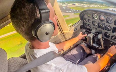 Congratulations to Andrew Bigham for completing his first solo flight!