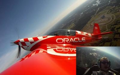 Caleb does Aerobatics with Oracle's Sean Tucker