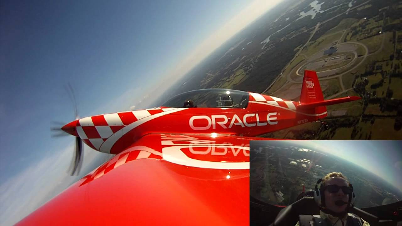 Caleb does Aerobatics with Oracle's Sean Tucker