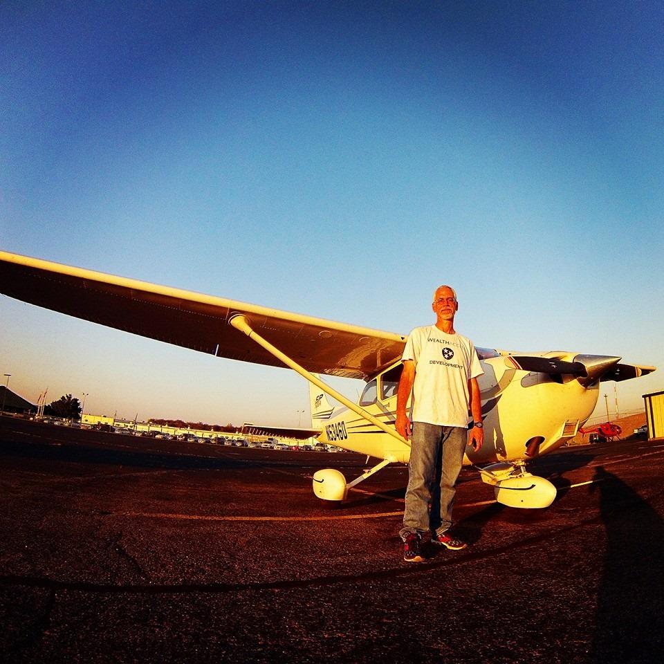 Ken Colson's Solo Flight