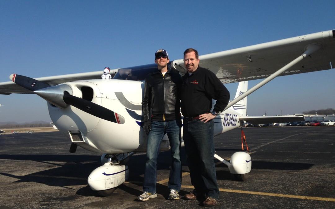 Ryan Snellen Takes His First Solo Flight!