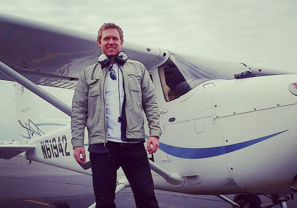 Josh Wingstrom Takes His First Solo Flight