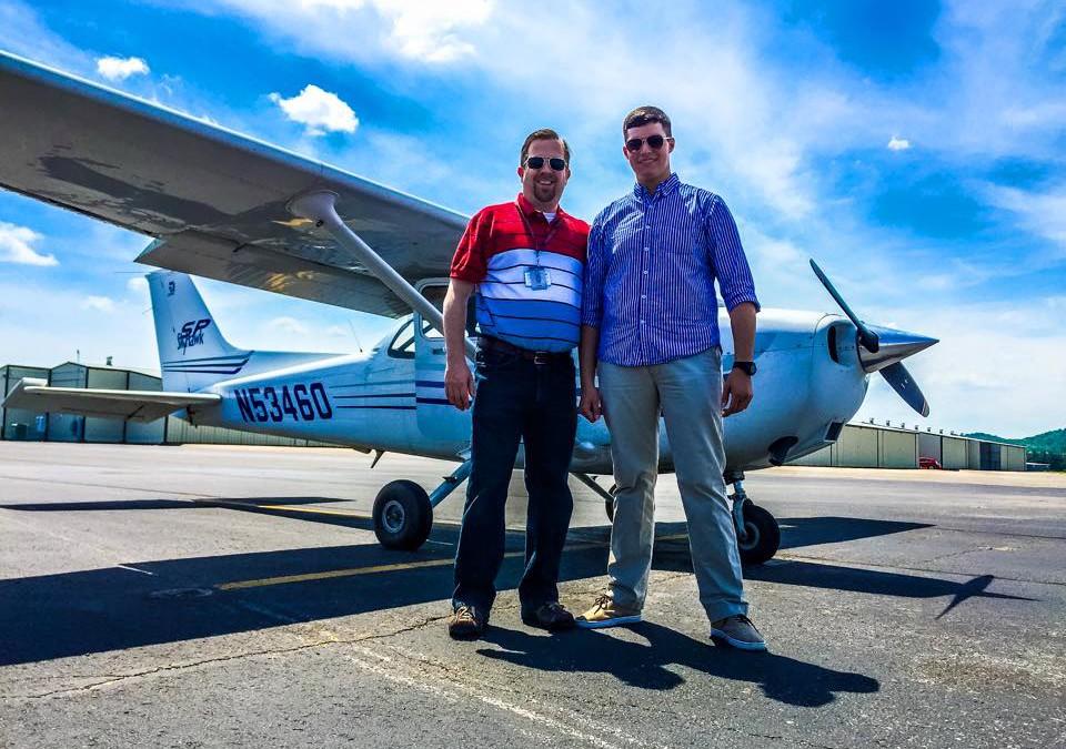 Dylan Dorman Earns Private Pilot Certificate