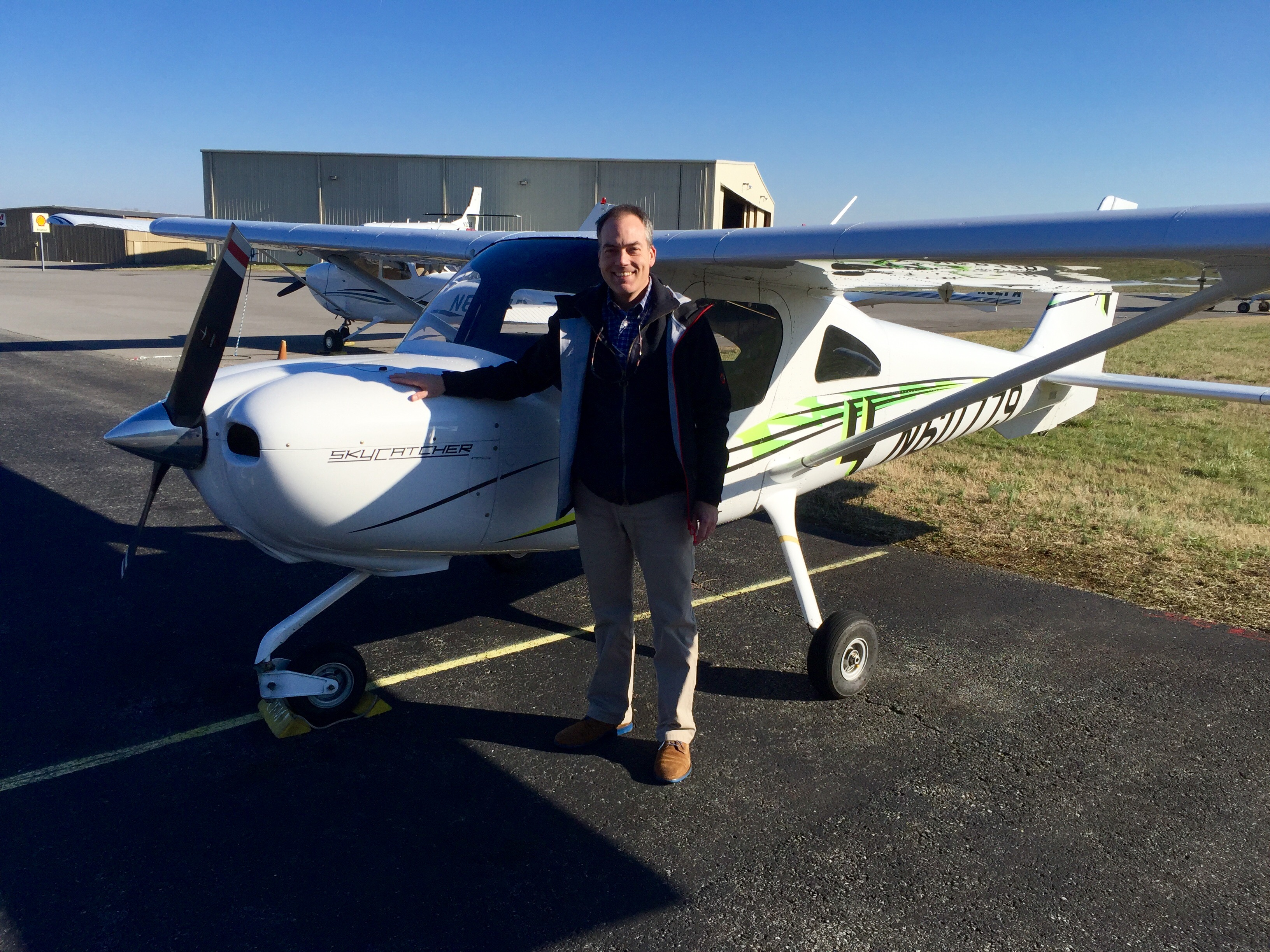 Congratulations to Andrew Collignon earning his Private Pilot Certificate!