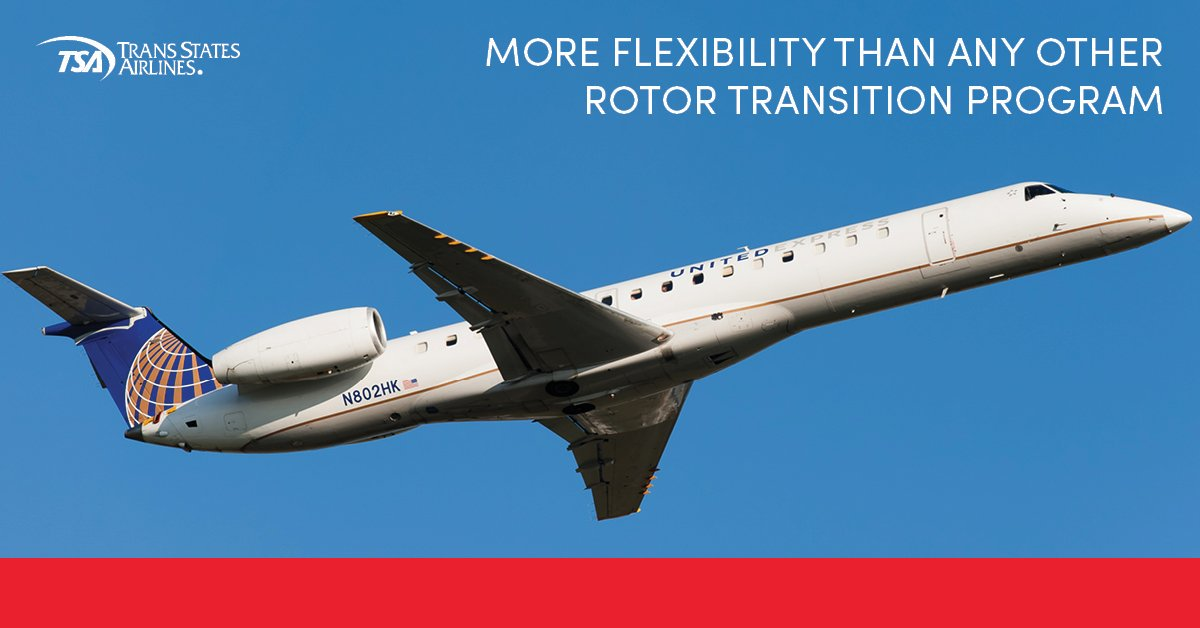 Wings of Eagles is now partnering with Trans States Airlines for Rotor to Wings Transition Training!