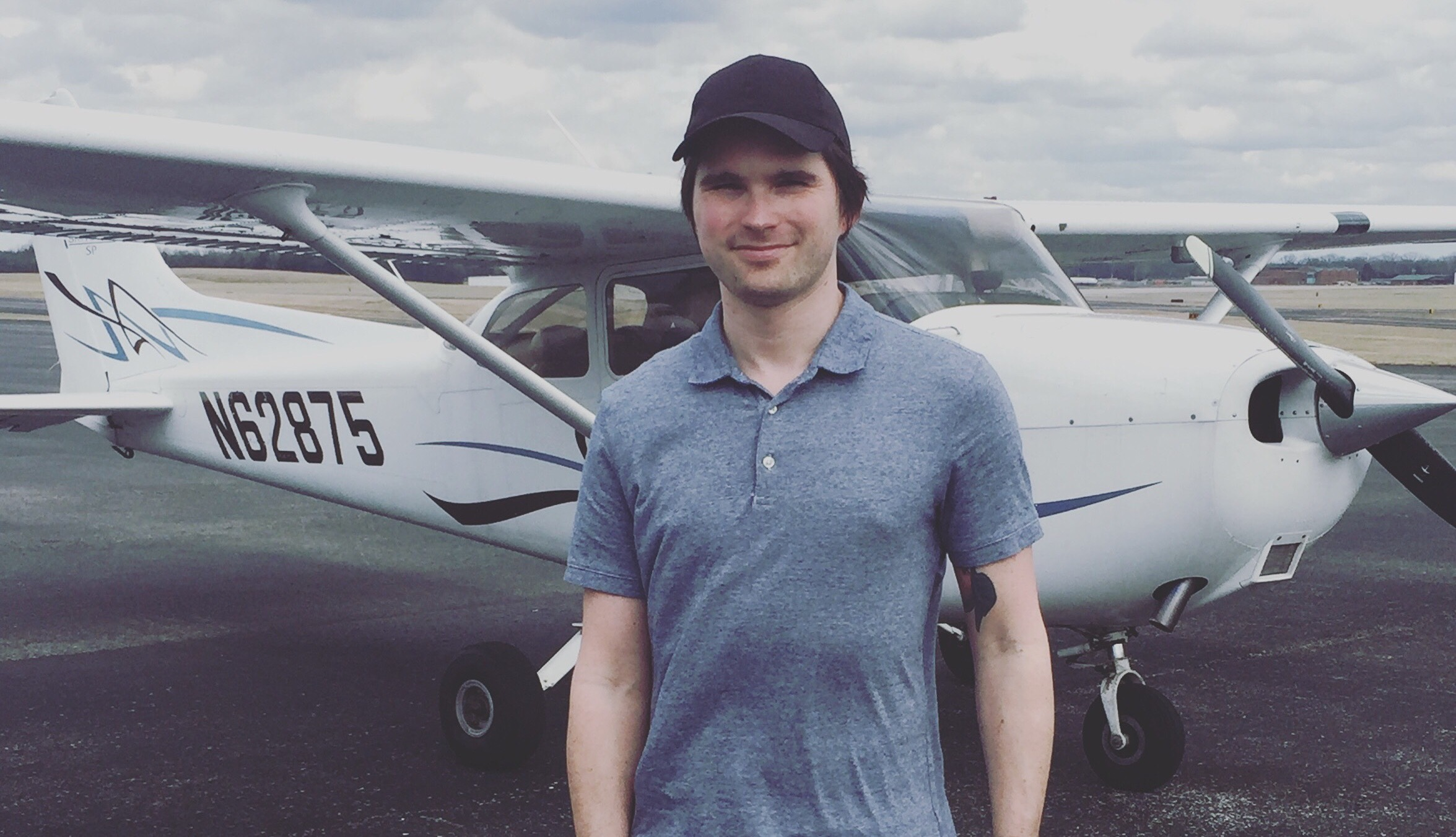 Erik Kaufmann is our newest Private Pilot!