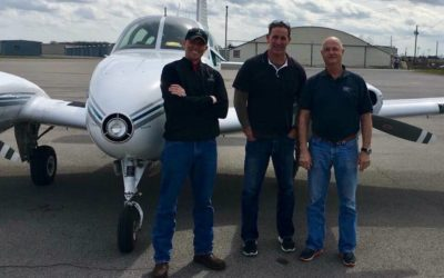 Former Director of Training for Metro PD Aviation Unit is our newest Commercial Pilot!