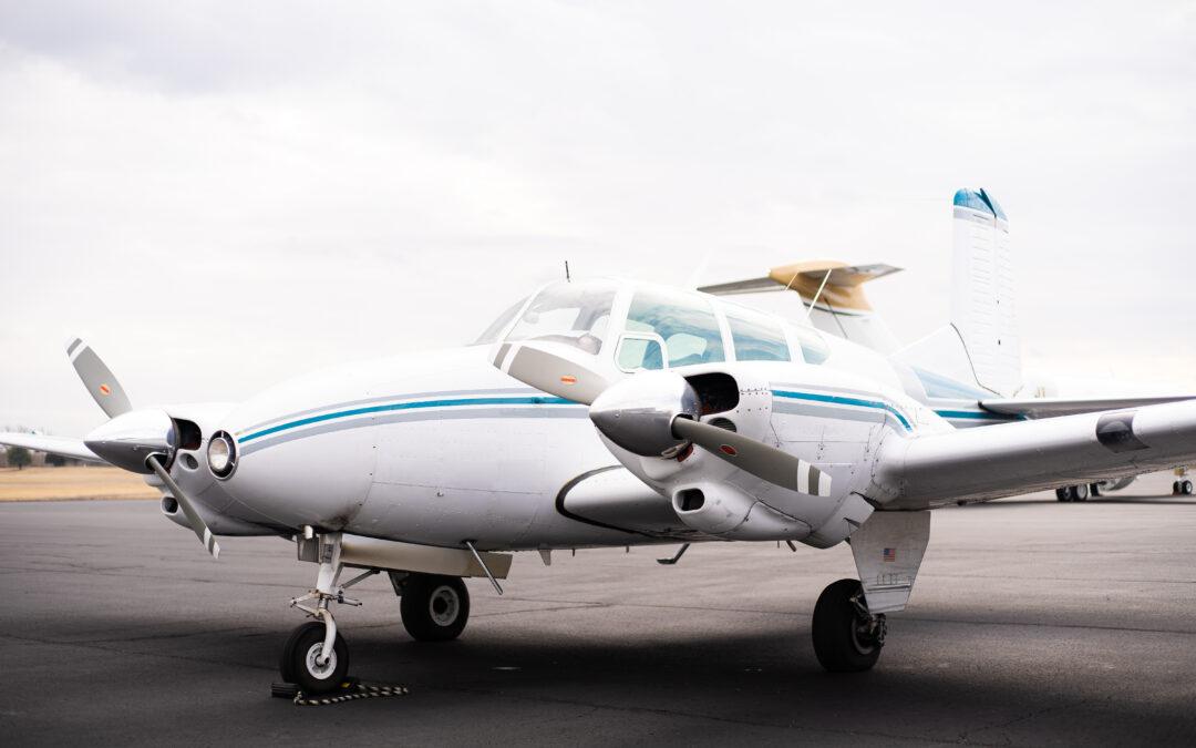 N8306D – 1958 Beechcraft Travel Air