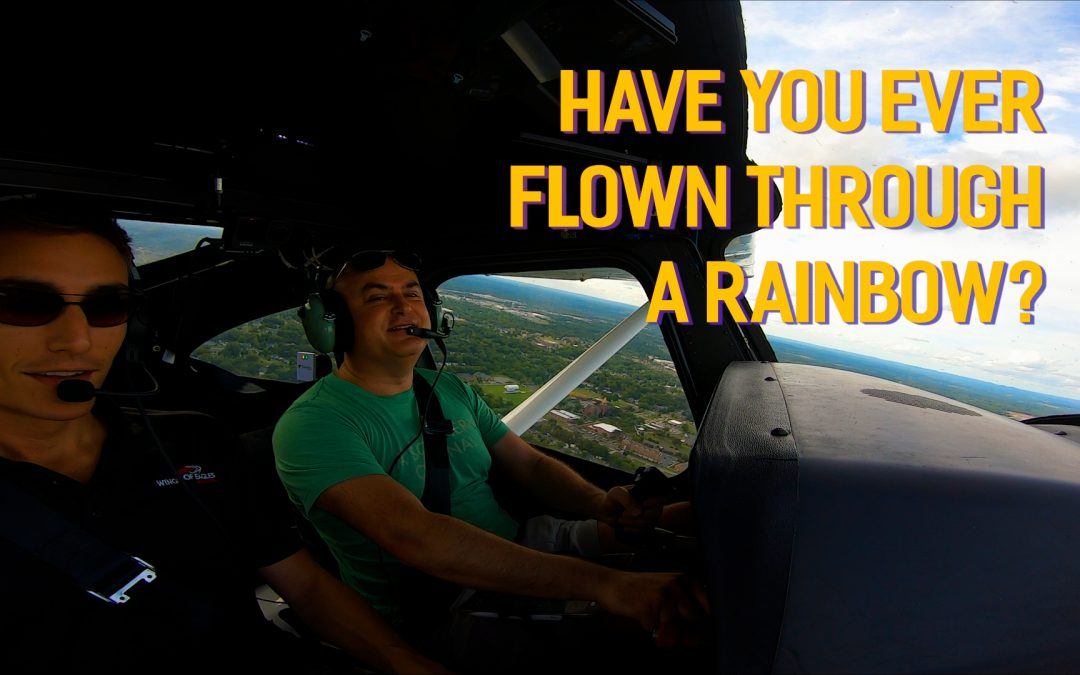 Flying is Awesome #3: Flying Through a Rainbow